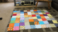 35 by 45 inch MINION baby boy quilt