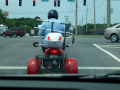 Three wheel cycle